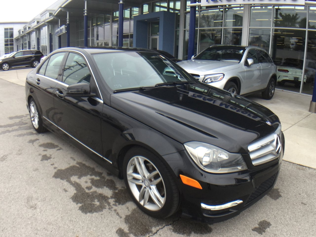 pre owned 2012 mercedes benz c class c 300 4matic sport sedan 4dr car in louisville uc10964a. Black Bedroom Furniture Sets. Home Design Ideas