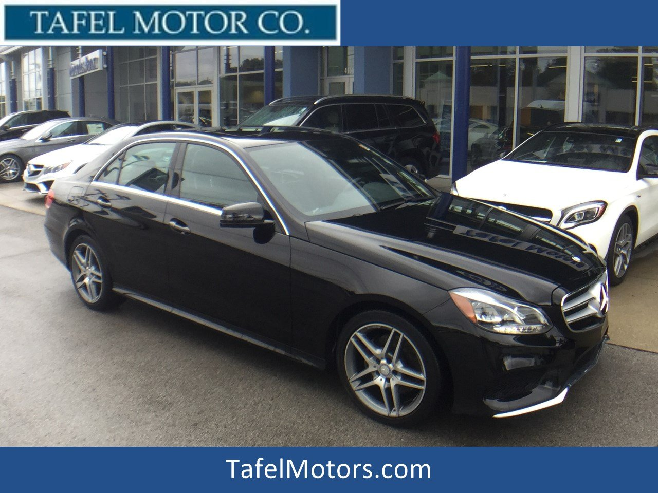 certified pre owned 2014 mercedes benz e class e 350 4matic sport sedan 4dr car in louisville. Black Bedroom Furniture Sets. Home Design Ideas