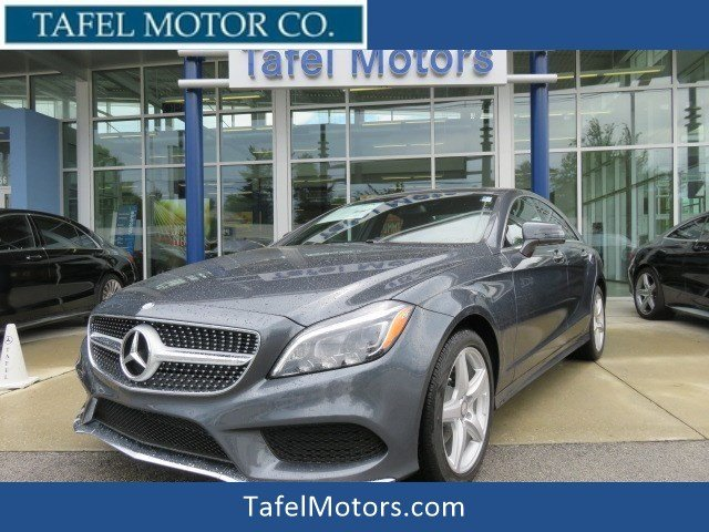 certified pre owned 2016 mercedes benz cls cls 400 4matic 4 door coupe coupe in louisville. Black Bedroom Furniture Sets. Home Design Ideas